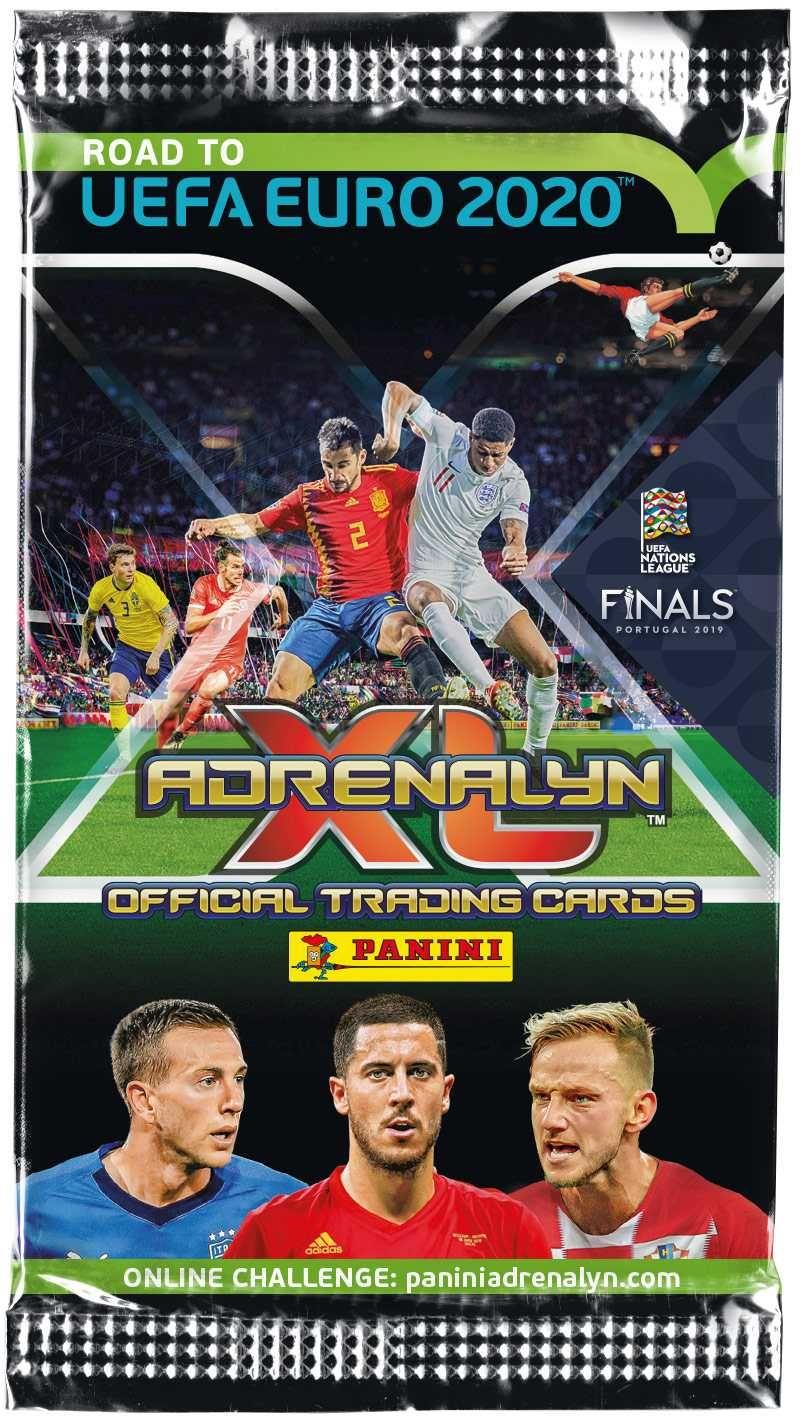 ROAD TO EURO 2020 - ADRENALYN - karty Plastikové modely