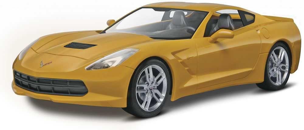Snap Kit MONOGRAM auto 1982 - 2014 Corvette® Stingray™ (1:25) Plastikové modely