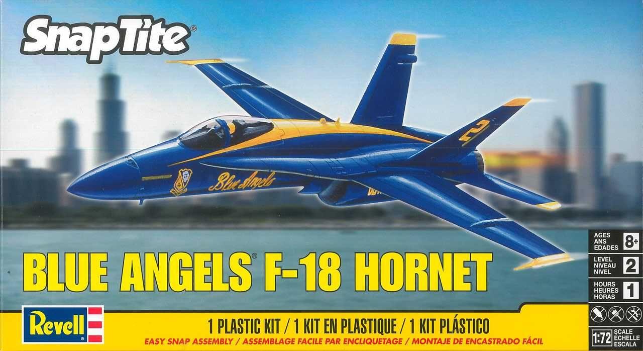 Snap Kit MONOGRAM letadlo 1185 - F-18 'Blue Angels' (1:72) Plastikové modely