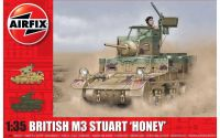 Classic Kit tank A1358 - M3 Stuart, Honey (British Version) (1:35)
