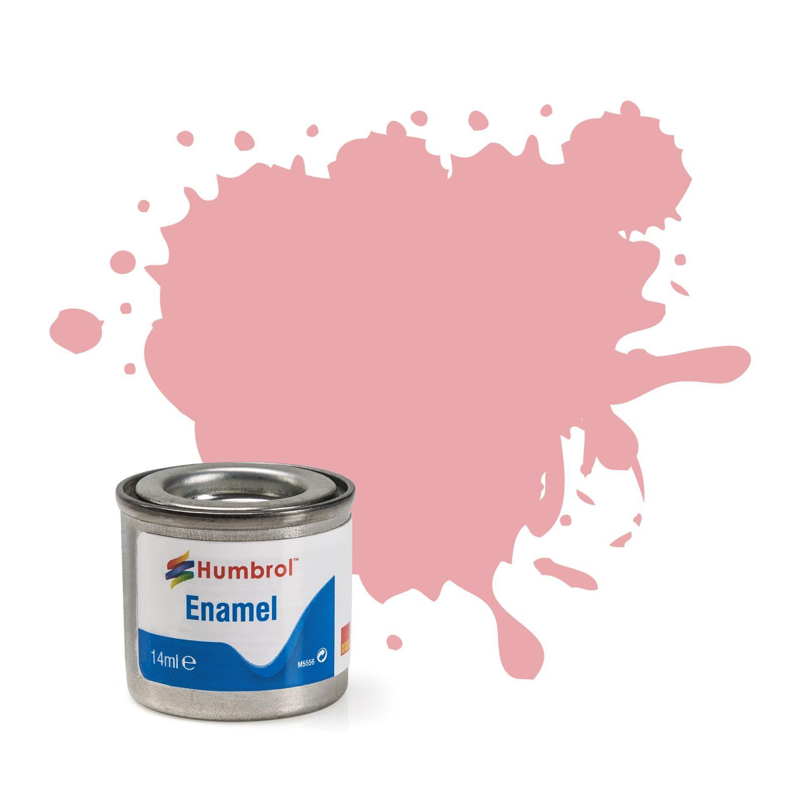 Humbrol barva email AA0057 - N0 57 Pastel Pink - Matt - 14ml Plastikové modely