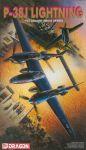 Model Kit letadlo 5018 - P-38J LIGHTNING (1:72)