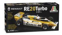 Model Kit auto 4707 - RENAULT RE 20 Turbo (1:12)
