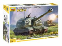 Model Kit military 5045 - MSTA-S Self Propelled Howitzer (1:72)