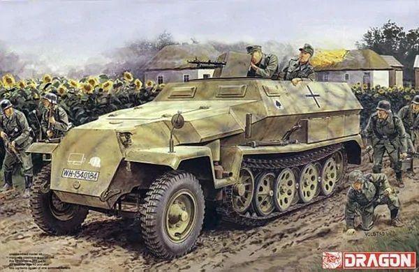 Model Kit military 7611 - Sd.Kfz.251 Ausf.C + 3.7cm PaK 35/36 (1:72) Plastikové modely