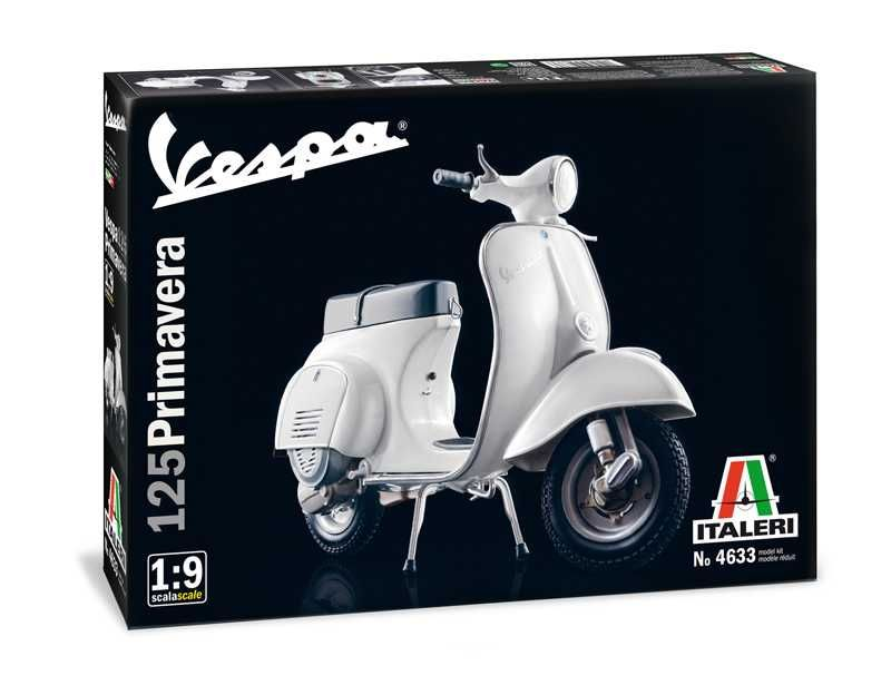 Model Kit motorka 4633 - VESPA 125 PRIMAVERA (1:9) Plastikové modely
