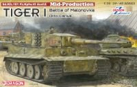Model Kit tank 6888 - Tiger I Mid-Production w/Zimmerit Otto Carius (Battle of Malinava Village 1944) (1:35)