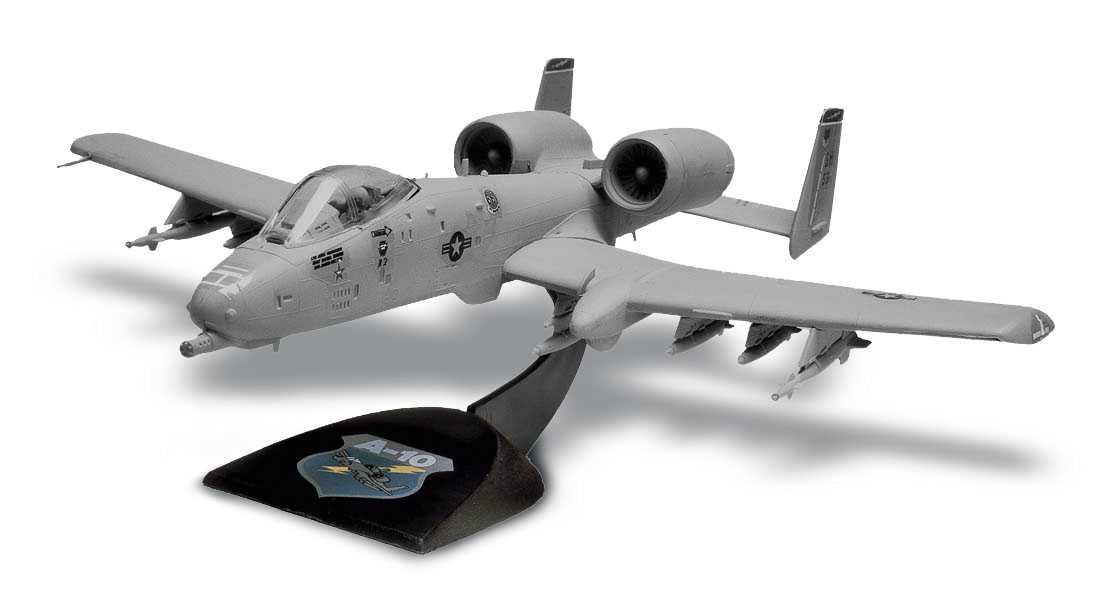 Snap Kit MONOGRAM letadlo 1181 - A-10 Warthog™ (1:72) Plastikové modely