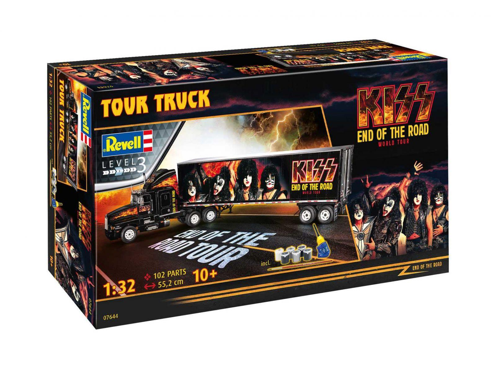 Gift-Set truck 07644 - KISS Tour Truck (1:32) Plastikové modely