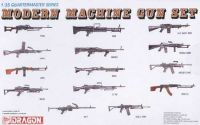 Model Kit zbraně 3806 - MODERN MACHINE GUN SET
