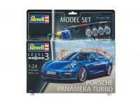 ModelSet auto 67034 - Porsche Panamera Turbo (1:24) Plastikové modely