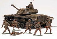 Plastic ModelKit MONOGRAM tank 7853 - M-48 A2 Patton Tank (1:35)