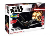Build & Play SW 06771 - Kylo Ren's TIE Fighter (světelné a zvukové efekty) (1:70)