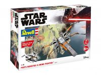 Build & Play SW 06777 - Poe's Boosted X-wing Fighter (zvukové efekty) (1:78)