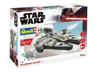 Build & Play SW 06778 - Millennium Falcon (světelné a zvukové efekty) (1:164)
