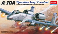 "Model Kit letadlo 12402 - A-10A ""OPERATION IRAQI FREECOM"" (1:72)"