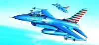Model Kit letadlo 12444 - F-16A (1:72)