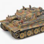 Model Kit tank 13239 - GERMAN TIGER-I (EARLY VERSION) (1:35)