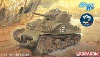 "Model Kit tank 6740 - M4 Sherman ""Composite Hull"" PTO w/Magic Track (Smart Kit) (1:35)"