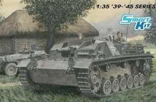 Model Kit tank 6919 - StuG.III Ausf.B (Smart Kit) (1:35) Plastikové modely