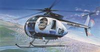Model Kit vrtulník 12249 - HUGHES 500D POLICE HELICOPTER (1:48)