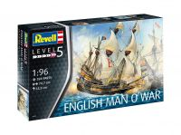Plastic ModelKit loď 05429 - English Man O'War (1:96)