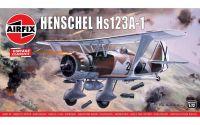 Classic Kit VINTAGE letadlo A02051V - Henschel Hs123A-1 (1:72)