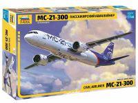 Model Kit letadlo 7033 - Civil Airliner MC-21-300 (1:144)