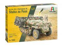 Model Kit tank 7080 - Sd. Kfz. 251/1 Wurfrahmen Stuka zu Fuss (1:72)