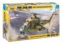 Model Kit vrtulník 4823 - MIL-Mi 24 V/VP (1:48)