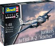 "Plastic ModelKit letadlo 03855 - Junkers Ju188 A-1 ""Rächer"" (1:48)"