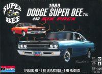 Plastic ModelKit MONOGRAM auto 4505 - 1969 Dodge Super Bee (1:24)