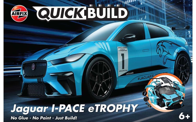 Quick Build auto J6033 - Jaguar I-PACE eTROPHY Plastikové modely