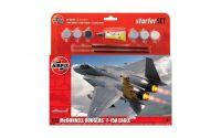 Starter Set letadlo A55311 - McDonnell Douglas F-15A Eagle (1:72)