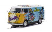 Autíčko Film & TV SCALEXTRIC C3933 - VW Panel Van T1b - DC Comics (1:32)