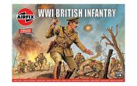 Classic Kit VINTAGE figurky A00727V - WW1 British Infantry (1:76)