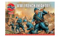 Classic Kit VINTAGE figurky A00728V - WW1 French Infantry (1:76)