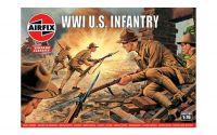 Classic Kit VINTAGE figurky A00729V - WW1 U.S Infantry (1:76)