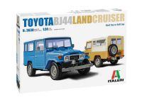 Model Kit auto 3630 - Toyota Land Cruiser BJ-44 Soft/Hard Top (1:24)