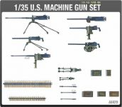 Model Kit military 13262 - US MACHINE GUN SET (1:35)