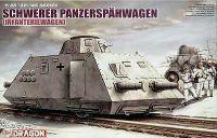 Model Kit military 6072 - SCHWERER PANZERSPAHWAGEN (INFANTERIEWAGEN) (1:35)