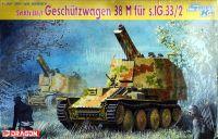 Model Kit military 6429 - Sd.Kfz.138/1 GESCHÜTZWAGEN 38 M für S.IG 33/2 (SMART KIT) (1:35)
