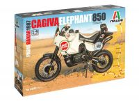 "Model Kit motorka 4643 - Cagiva ""Elephant"" 850 Paris-Dakar 1987 (1:9)"