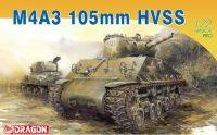Model Kit tank 7313 - M4A3 105mm HVSS (1:72)