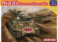 Model Kit tank 7570 - M4A3E8 SHERMAN Korean War (70th Anniversary) (1:72)