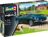 Plastic ModelKit auto 07687 - Jaguar E-Type Roadster (1:24)