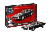 Plastic ModelKit auto 07693 - Fast & Furious - Dominics 1970 Dodge Charger (1:25)