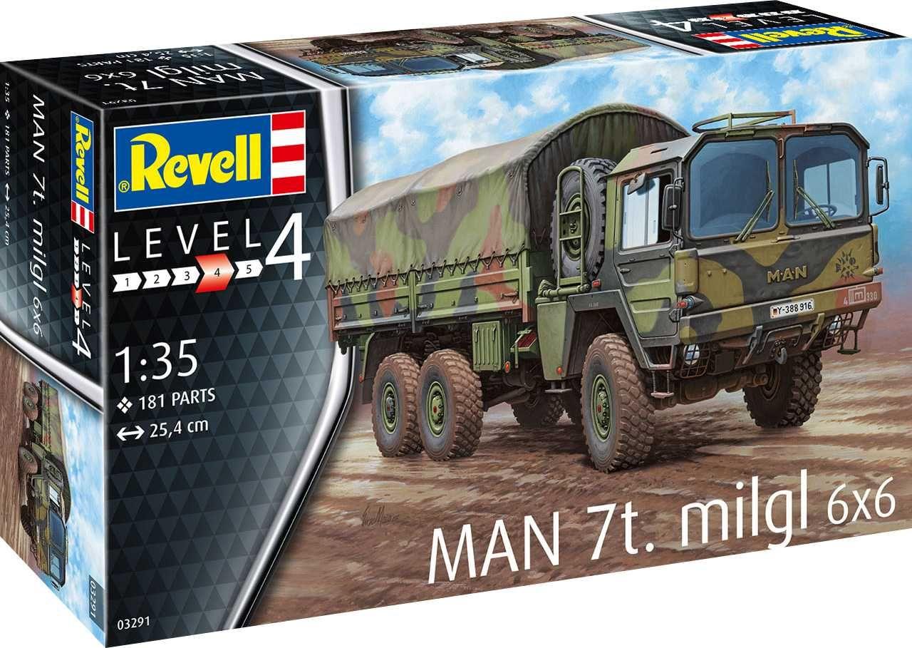Plastic ModelKit military 03291 - MAN 7t Milgl (1:35) Plastikové modely