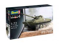 Plastic ModelKit tank 03314 - PT-76B (1:72)