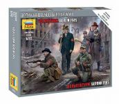 Wargames (WWII) figurky 6272 - German Volkssturm (1:72)
